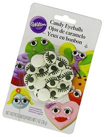 Wilton Candy Eyeballs with Lashes Icing Decorations 710-2223