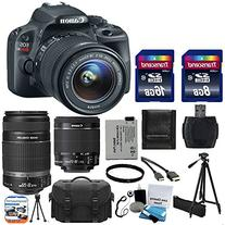 Canon EOS Rebel SL1 18.0 MP CMOS Digital SLR with EF-S 18-