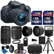 Canon EOS Rebel T5i Digital Camera HD Video & EF-S 18-55 f/3