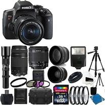 Canon EOS Rebel T6i Digital SLR Camera & 18-55 F3.5-5.6 IS