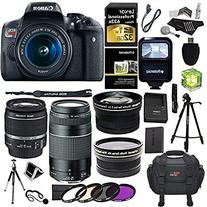 Canon EOS Rebel T6i 24.2 MP Digital SLR Camera 18-55mm STM