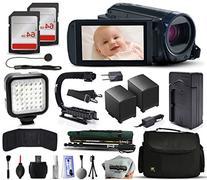 Canon VIXIA HF R600 HFR600 HD Camcorder Video Camera + 128GB
