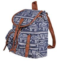 Vbiger Canvas Backpack for Women & Girls Boys Casual Book