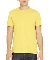 Bella Canvas Unisex Jersey Short-Sleeve T-Shirt - MAIZE
