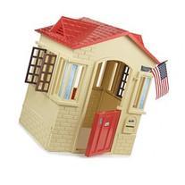 Little Tikes Cape Cottage Playhouse - Tan