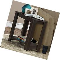 Monarch Specialties I 3119 Accent End Side Lamp Table with