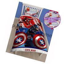Marvel Captain America Civil War Single/US Twin Rotary Duvet