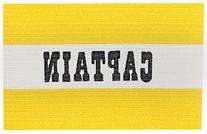 Champion Sports Captain Arm Bands, Yellow