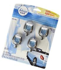 Febreze Car Air Freshener 4 Clips Linen & Sky