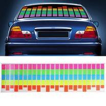 DBPOWER 90x25cm Car Auto Music Beat Rhythm LED Glow Lights
