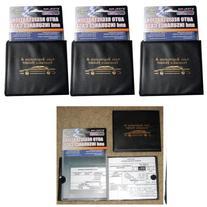 Set of 3 Auto Car Registration Insurance Holder Wallet