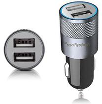 Car Charger, WirelessFinest, Dual Port 3.1A USB Car Charger