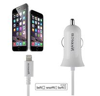 Car Charger, Nexcon Apple MFi Certified 2.4A Lightning Car
