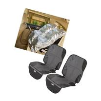 Mommy's Helper Car Seat Sun Shade with Car Seat Mat, Set of