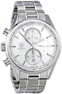 TAG Heuer Men's CAR2111.BA0720 Carrera Silver Dial
