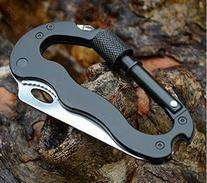 Domire Carabiner Keychain Clip Survival Tool - Includes