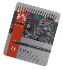 CREATIVE ART MATERIALS Caran D'ache Pablo Color Pencils Set