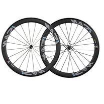 ICAN 50mm Carbon Clincher Wheelset Racing Bike Novatec Hub