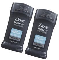 Dove Men +Care Invisible Solid Antiperspirant, Clean Comfort