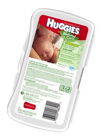 Huggies Natural Care Baby Wipes, Hypoallergenic, 16 ct