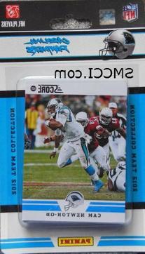 2012 Score Carolina Panthers Factory Sealed 12 Card Team Set
