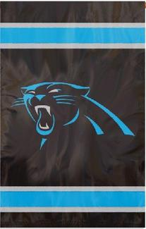 Party Animal Carolina Panthers Banner NFL Flag