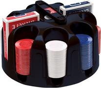 Bicycle Carousel Poker Set, 200 2-Gram Poker Chips and 2