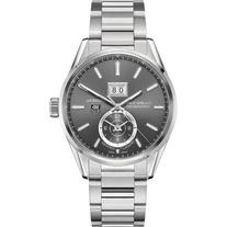 Tag Heuer Carrera Calibre 8 GMT Grey Dial Stainless Steel