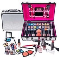 SHANY Carry All Makeup Train Case with Pro Makeup and