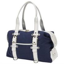 Crescent Moon Carrying Case for Travel Essential - Navy Blue