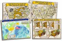 Carson Dellosa Mark Twain Historical Maps of The United