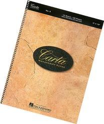 Carta Manuscript Paper No. 9 - Basic