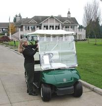 ProActive Sports CartShield Clear Portable Golf Cart