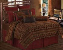 HiEnd Accents Cascade Lodge Bedding, Super Queen