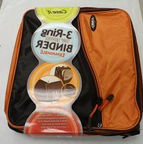 """Case It 3 Ring Binder, 1 1/2"""", Expandable"""