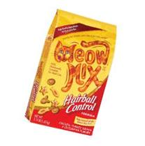 Case of Meow Mix Hairball Control Cat Food