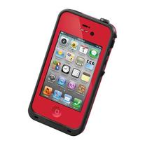 LifeProof Case for iPhone 4/4S - Retail Packaging - Red/