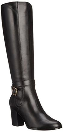 Cole Haan Women's Cassidy WR Harness Boot, Black WP Leather