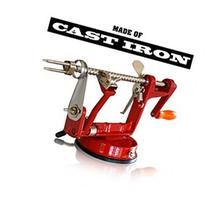 CAST IRON APPLE PEELER by Purelite Durable Heavy Duty Cast