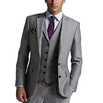 CMDC Men's New Casual Slim Fit Skinny dress Vest Business