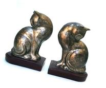 Cat Bookends Pair - Home Decoration Book Ends