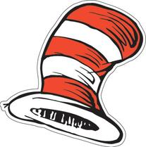 Eureka The Cat in the Hat 5-Inch Paper Cut Out Hats, Package