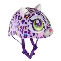 Raskullz Sparklez Peace Love Kitty Helmet, Pink, Ages 3