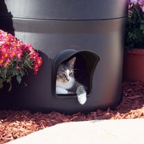 The All NEW Kitty Tube GENERATION 2 - Outdoor Cat House with