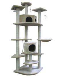 BestPet Cat Tree Condo Furniture Scratch Post Pet House, 80-