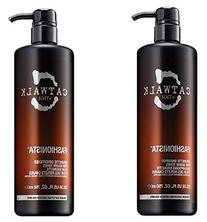 Tigi Catwalk Fashionista Brunette Shampoo and Conditioner,