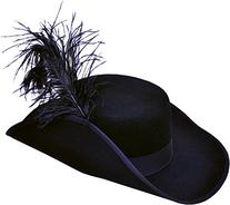 Morris Costumes Cavalier Hat Quality Large