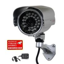 "VideoSecu Bullet Security Camera 700TVL Built-in 1/3"" SONY"