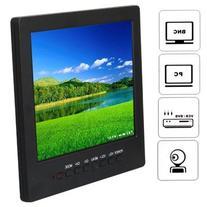 ANSHILONG 8 Inch LCD Color Cctv Monitor with VGA BNC Av Port