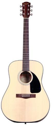 Fender Beginner Dreadnought Acoustic Guitar, Left Handed CD-